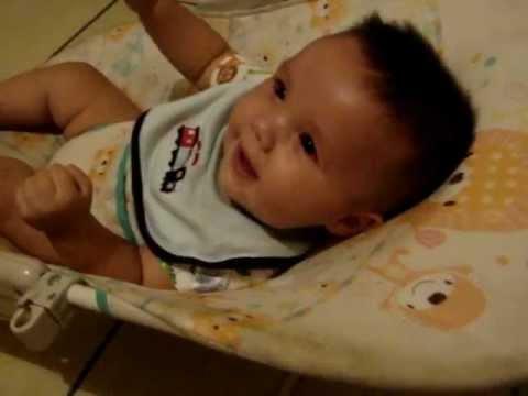 Bebe de 6 meses riendose bien gracioso y hermoso youtube - Bebe de 6 meses ...