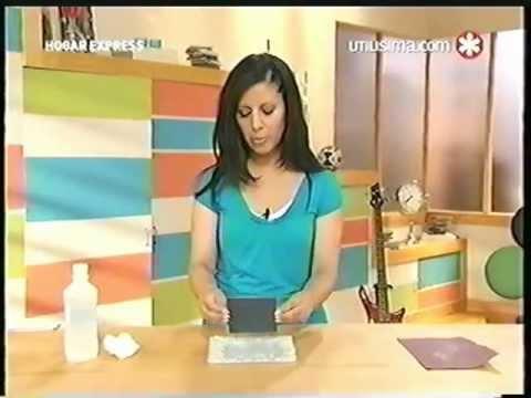 Liliana Cota Hogar Express Platos Con Espejos Youtube