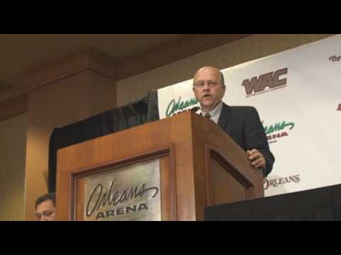 WAC Baskeball Press Conference on bringing tourney to Las Vegas