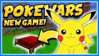 MINECRAFT POKEMON BEDWARS!! POKEWARS! 🔴 Minecraft NEW Bedwars Minigame (Livestream)