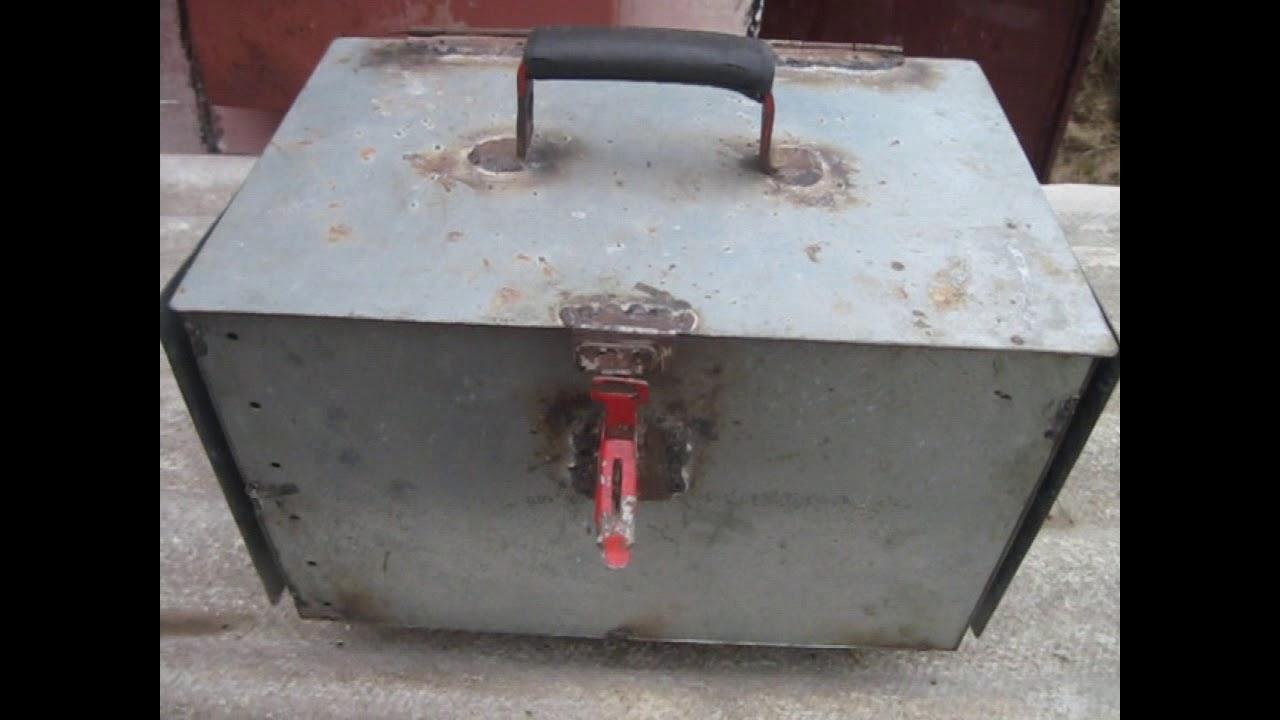 Ящик для сварочного своими руками