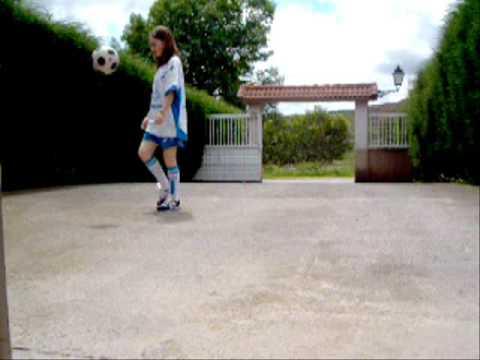 Futura Estrella Del Futbol Femenino Youtube