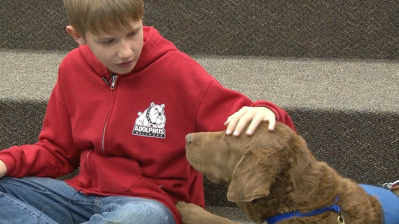 Adolphus Reading Education Assistance Dogs
