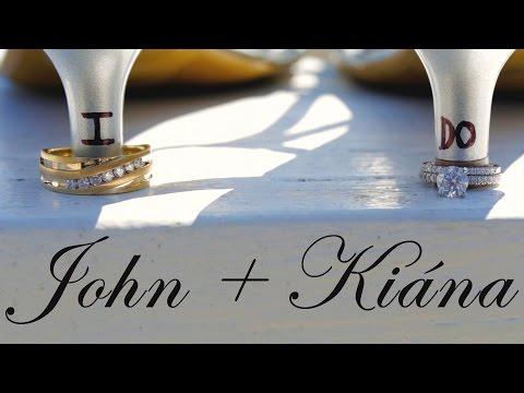 John + Kiana - Cinematic Wedding Film at the Waterfront Country Club in Moneta, VA