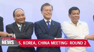Moon at ASEAN: S. Korean president, Chinese premier agree to expedite restoration process of...