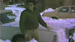 Another Blizzard in NYC...this one February 12th 1983