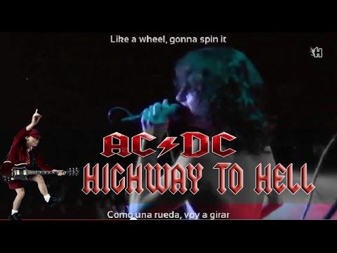 AC/DC - Highway to Hell (lyrics - sub español) [Paris 1979 ...