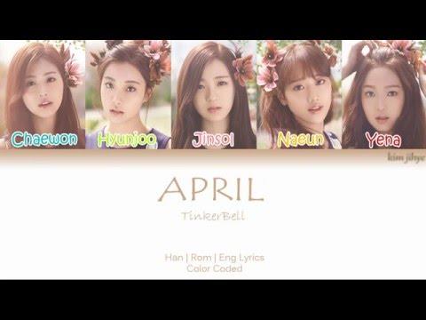 APRIL (에이프릴) – Tinker Bell (팅커벨) Lyrics (Han|Rom|Eng | Color Coded)