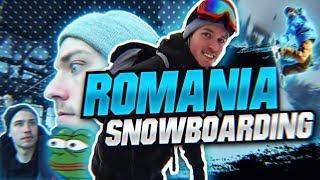 JAKE GETS LOST SNOWBOARDING IN ROMANIA!