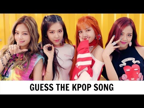 GUESS THE KPOP SONG BY IT'S FIRST 5 SECONDS