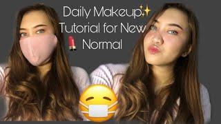 DAILY MAKEUP TUTORIAL FOR NEW NORMAL😷| makeup untuk pemula