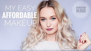 MY EASY, AFFORDABLE MAKEUP || AshleighVlogs