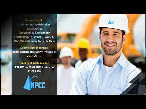 Tenders Awarded by NPCC in Construction & Consulting Segment