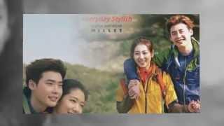 Lee Jong Suk ♥ Park Shin Hye ~ The Gift (Millet CF) ~