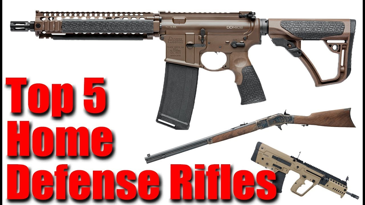 Top 5 Rifles For Home Defense Code Amber