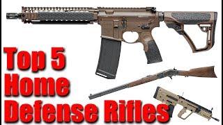 Top 5 Rifles For Home Defense