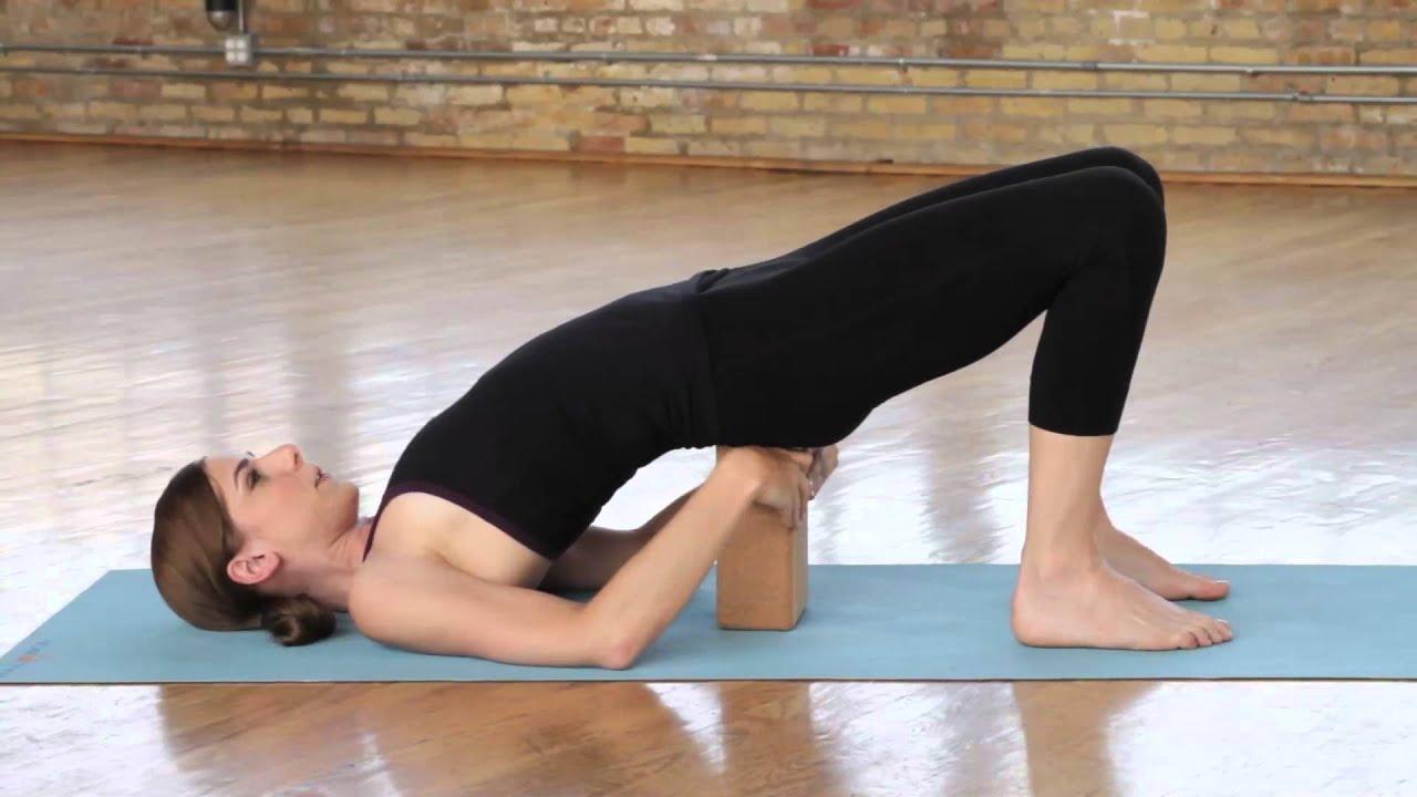 Yoga Block   Bridge Pose.mov