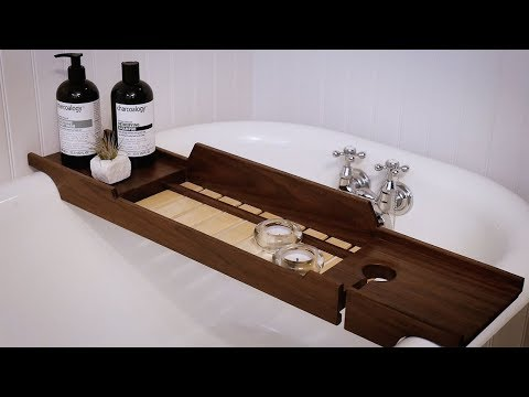Bathtub Tray DIY Build