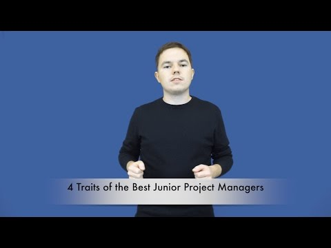4 Traits of the Best Junior Project Manager