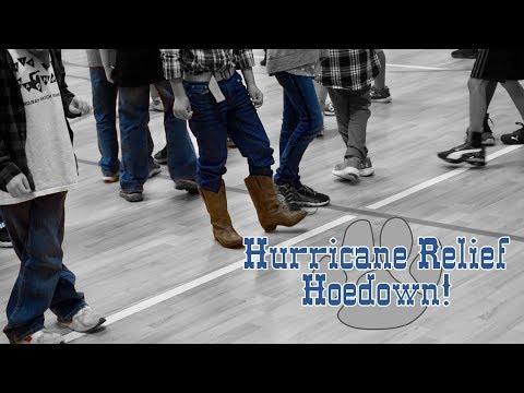 Hurricane Relief Hoedown at Darby Woods Elementary School!