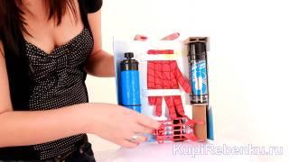Человек-Паук Бластер, стреляющий паутиной(http://www.kupirebenku.ru/toys/id/20165/ - ещё больше на сайте КупиРебёнку.ру В подарок вы получите Уникальный Коллекционн..., 2011-06-29T16:10:31.000Z)