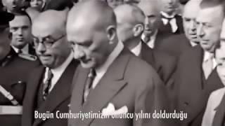 Mustafa Kemal Atatürkün 29 Ekim Konuşması