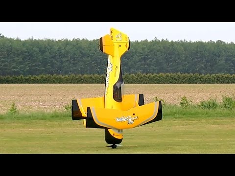 PITTS M-12 PYTHON HUGE RC SCALE MODEL FLIGHT WITH FAILED LANDING / Pitts Meeting Vechta Germany 2016