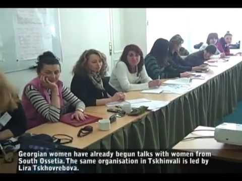 Female Peace Activists in Caucasus Get Message Across