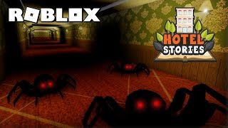 Roblox Hotel Stories | Full PlayThrough | Horror Game