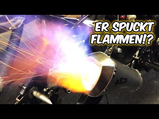 Riesige FLAMMEN aus der Spark Komplettanlage!?
