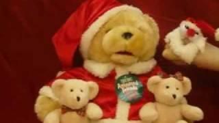 Dandee Christmas Animated Big Bear With Two Little Bears