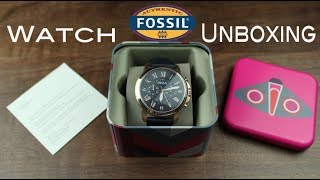 Fossil FS4835 Unboxing