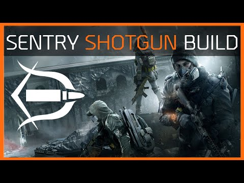 The Division | The Best Shotgun Build in 1.3 | Sentry's Build