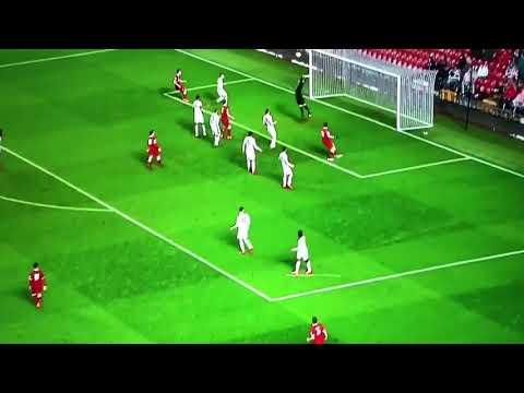 Liverpool U23s Adam Lewis wonder Free Kick against Man Utd 09/03/18