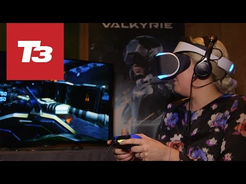 Sony Project Morpheus demo