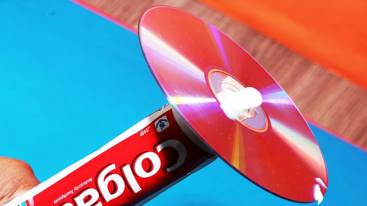 Watch How to Repair a CD With Toothpaste video