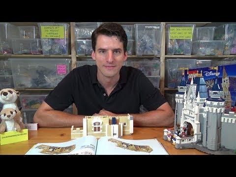 Bauen mit dem Helden - LEGO® 71040 - Disney Castle Bauphase 7