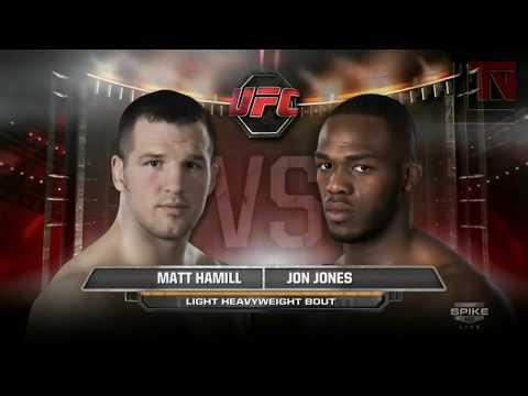 Единственный проигрыш Джон Джонса в бою против Мэтта Хэмилла