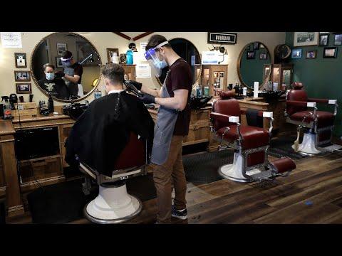 Tour Bay Area hair salon preparing to reopen amid coronavirus pandemic – Watch ABC7 News Live