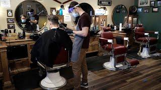 Tour Bay Area hair salon preparing to reopen amid coronavirus pandemic - Watch ABC7 News Live