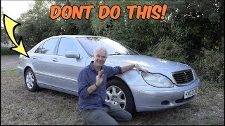 Here's Why You Sh๐uld NEVER DIY Paint - Smartening Up the £900 S-Class?