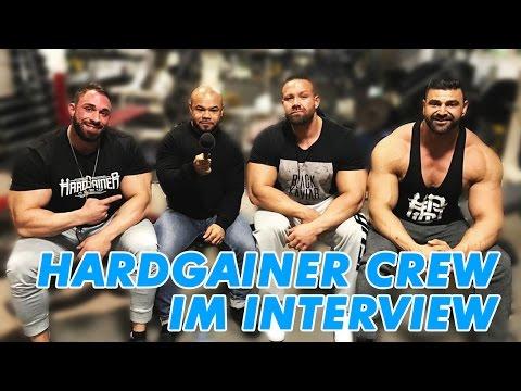 Hardgainer Crew Interview über Steroide, Karl Ess, Fitness YouTube, Wettkämpfe, Supplements uvm.