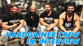 Hardgainer Crew Interview über Steroide, Karl Ess, Fitness YouTube, Wettkämpfe, Supplements uvm.