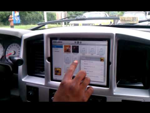 2008 Dodge Ram Ipad Install Youtube