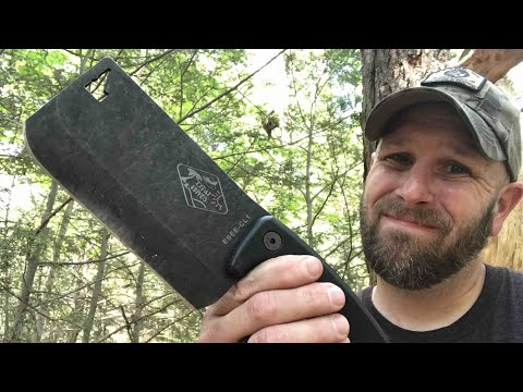ESEE Cleaver: Cool, Unique But Not For Me In The Woods - Save It For The Kitchen