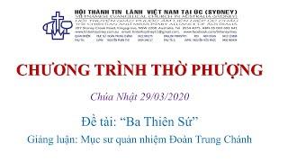 HTTL Kingsgrove (Úc Châu) - Chương trình thờ phượng Chúa - 29/03/2020