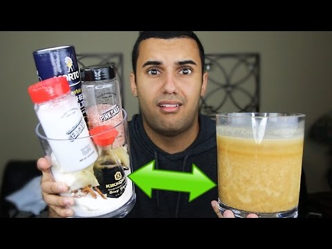 DRINKING THE SALTIEST DRINK ON EARTH!! CHALLENGE!! (PINK SALT/OCEAN WATER!!) *INSANELY DANGEROUS*