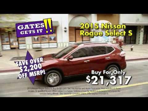 Gates Nissan June 2015 - YouTube