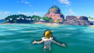 Can you beat Eventide Island without touching the ground?