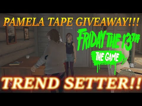 Friday the 13th (Game):PAMELA TAPE GIVEAWAY:HAPPY HOLIDAYS